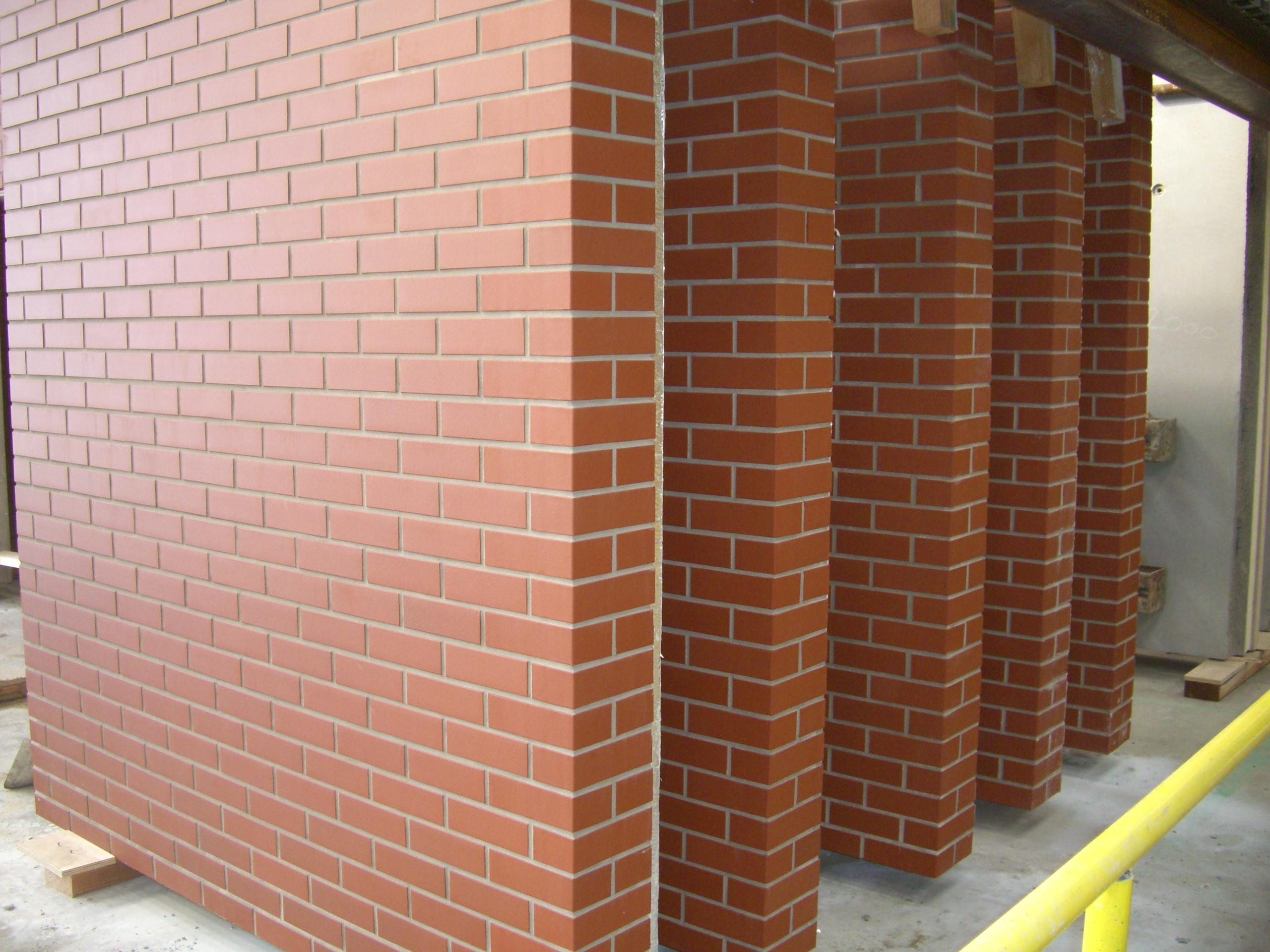 Precast Concrete Panel With Brick : Pre cast concrete panels lbt brick facades ltd